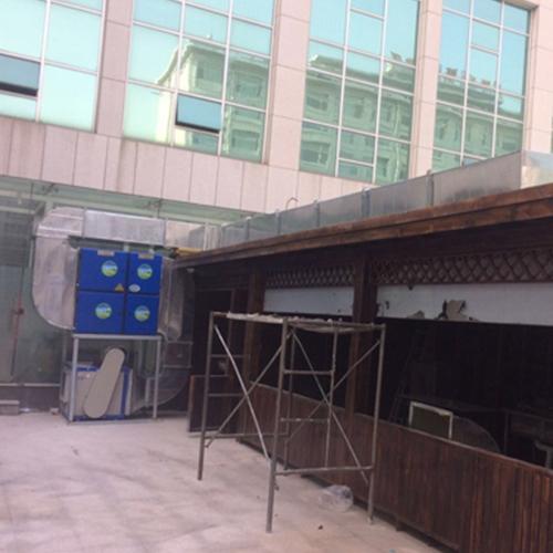青島廚房排煙通風管道